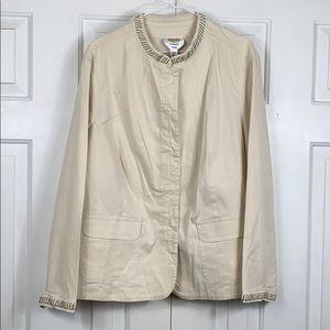 Talbots woman plus blazer/jacket size 16w